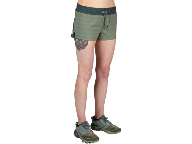 Ultimate Direction Stratus Shorts Damer, oliven